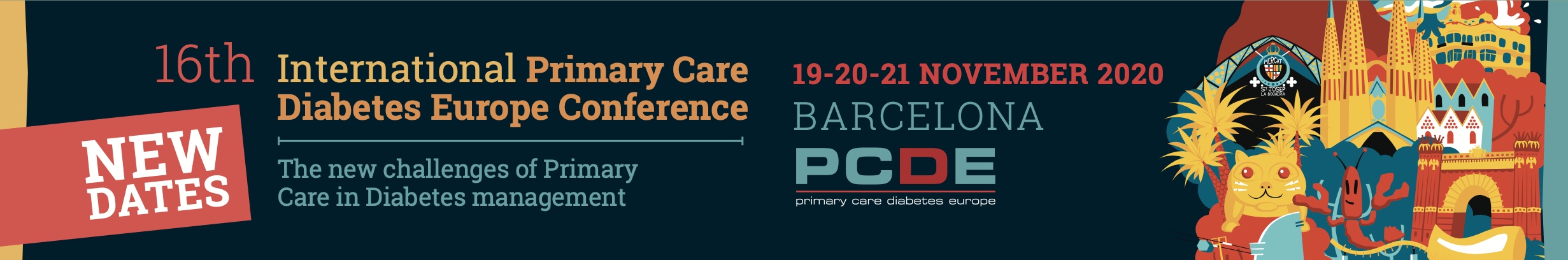 CANCELLED - 16th International Primary Care Diabetes Europe Conference