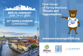 25th Wonca Europe Conference – Cancelled