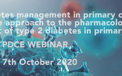 Webinar October 7: A disease state approach to the pharmacological management of type 2 diabetes in primary care: A position statement by Primary Care Diabetes Europe